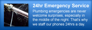 24 Hour Emergency Plumbing Company Cary Apex